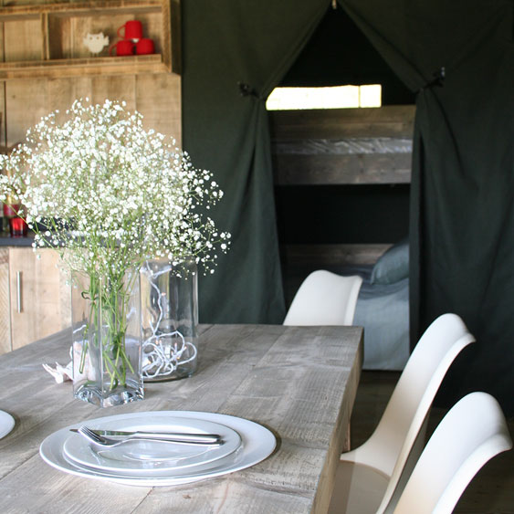 Safari tent 2 Glamping Mounts Bay