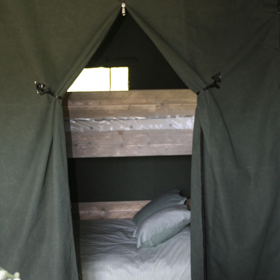 Safari tent 4 Glamping Mounts Bay